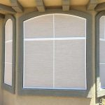 Arched Bay Window - TEXTILENE® 90 - Desert Sand