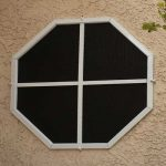 Octagon Window - TEXTILENE® 90 - Black