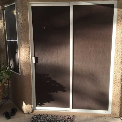 Sliding Door Solar Screens