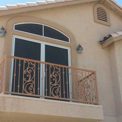 Arched Window Solar Screens
