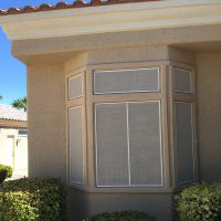 Bay Windows Solar Screen